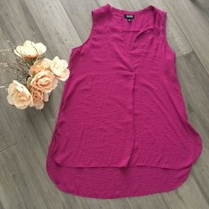 A.N.A A New Approach Merlot color top size XS